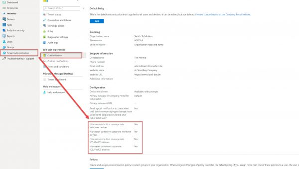 What's new in Intune – release 2005